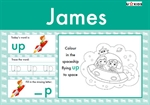 Nursery Word Pad for Boys, a Personalised Classic Novel