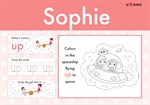 Nursery Word Pad for Girls, a Personalised Classic Novel